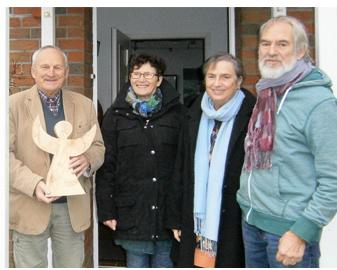 Reiner Lange, Hielkje van Damme, Margit und Rolf Hillen